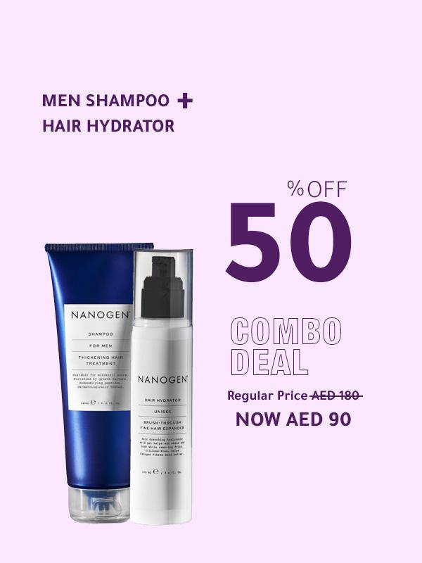 Men Shampoo + Hair Hydrator