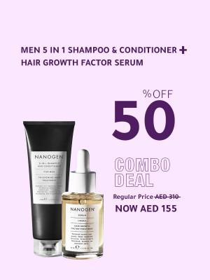 Serum + Men 5-in-1 Exfoliating Shampoo & Conditioner