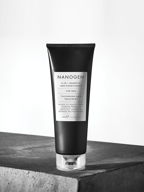Men 5-IN-1 Exfoliating Shampoo & Conditioner